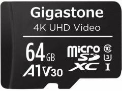 Gigastone/microSDXCカード 64GB Class10/GJMX-64GV3A1