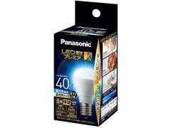 パナソニック/LED電球プレミアX E17口金 40形相当440lm 昼光色