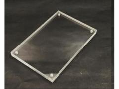 スマイル/アクリル マグネットカードフレーム 100(100×100×10mm)