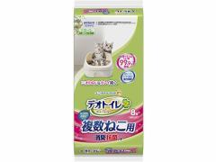 ユニ・チャームペットケア/デオトイレ複数猫用消臭抗菌シート 8枚