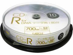 Lazos/CD-R データ用 10枚/L-CD10P