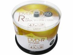 Lazos/DVD-R データ用 50枚/L-DD50P