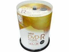 Lazos/DVD-R データ用 100枚/L-DD100P