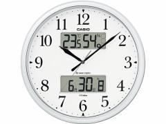 カシオ/電波掛時計 生活環境お知らせクロック/ITM-660NJ-8JF