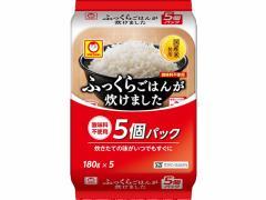 東洋水産/ふっくらご飯が炊けました180g 5食