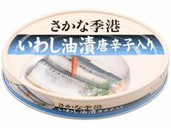 信田缶詰/いわし 油漬 唐辛子入り 100g
