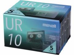 マクセル/カセットテープ 10分 5巻/UR-10N5P