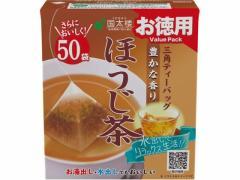 国太楼/お徳用 豊かな香りほうじ茶 三角ティーバッグ 50P