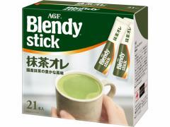 AGF/ブレンディ スティック 抹茶オレ 21本