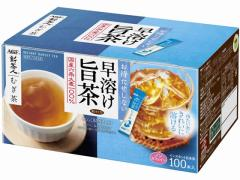 AGF/新茶人 早溶け旨茶 むぎ茶スティック 100本