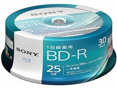 ソニー/30BNR1VJPP4/1回録画用BD 25GB4倍速30枚