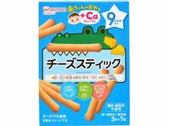 和光堂/赤ちゃんのおやつ+Ca チーズスティック 3本×7袋