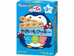 和光堂/赤ちゃんのおやつ+Ca やきいもクッキー 2本×6袋