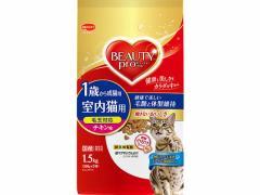日本ペットフード/ビューティープロ 成猫用 1歳から チキン味 1.5kg