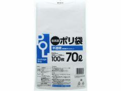 半透明ポリ袋 70L 詰替え/GA-704R