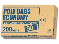 オルディ/環境配慮 ポリ袋BOXタイプ 90L 透明 200枚入