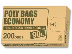 オルディ/環境配慮 ポリ袋BOXタイプ 90L 乳白半透明 200枚入
