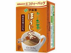 伊藤園/お〜いお茶 ティーバッグ ほうじ茶 2.0g×20パック