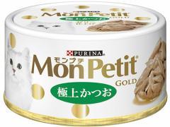 ネスレピュリナ/モンプチ ゴールド缶 極上かつお 24缶