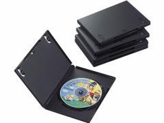 エレコム/DVDトールケース 5枚パック ブラック/CCD-DVD02BK