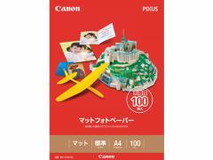 キヤノン/マットフォトペーパー A4 100枚/MP-101A4100