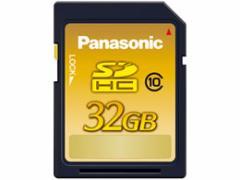 パナソニック/SDHCメモリーカード CLASS10 32GB/RP-SDWA32GJK