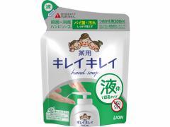 ライオン/キレイキレイ薬用ハンドソープ詰替用 200ml