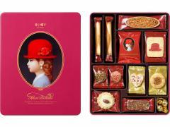赤い帽子 ピンクボックス