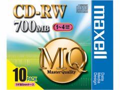 マクセル/CD-RW700MB10枚/CDRW80MQ.S1P10S