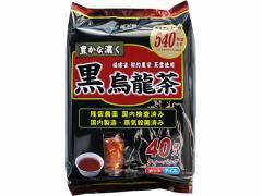 国太楼/豊かな濃く 黒烏龍茶ティーバッグ 40袋入