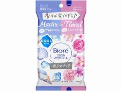 KAO/ビオレサラサラパウダーシート香りマジックマリンtoフローラル携帯用10枚