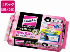 KAO/トイレクイックル ニオイ予防プラス エレガントローズ 詰替 16枚