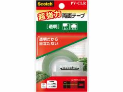 3M/スコッチ超強力両面テープ 透明ロールタイプ/PV-CLR