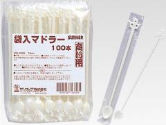 サンナップ/袋入りマドラー 100本/MD-100G