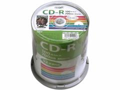 HIDISC/CD-R 700MB 52倍速 100枚 スピンドル/HDCR80GP100