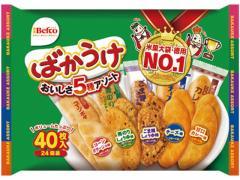 栗山米菓/ばかうけアソート 40枚