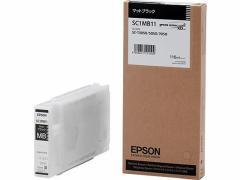エプソン/インクカートリッジ マットブラック/SC1MB11