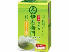 福寿園/伊右衛門抹茶入玄米茶ティーバッグ 20バッグ