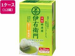福寿園/伊右衛門抹茶入玄米茶ティーバッグ 20バッグ×12箱