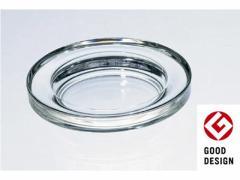 東洋佐々木ガラス/ガラス灰皿 φ12cm クリア/54009