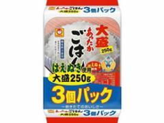 東洋水産/あったかごはん 大盛 250g 3個パック