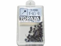 トラヤ/マップピン 単色 黒 50本/TS-056ヒンBK