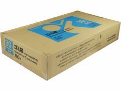 Forestway/ゴミ袋(ティッシュBOXタイプ)透明 90L 100枚