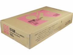 Forestway/ゴミ袋(ティッシュBOXタイプ)黒 90L 100枚