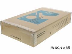Forestway/ゴミ袋(ティッシュBOXタイプ)透明 70L 100枚×3箱