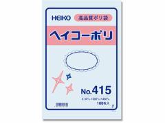 ヘイコー/ポリ袋 No.415 0.04×300×450mm 100枚
