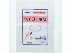 ヘイコー/ポリ袋 No.416 0.04×340×480mm 100枚