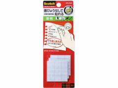 3M/スコッチ くり返し使えるメモ掲示用タブ 透明27片/870-CLR