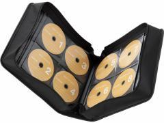 エレコム/CD/DVDファスナーケース 320枚/CCD-SS320BK