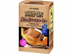 キーコーヒー/ドリップオン カフェインレスコーヒー 7.5g×5袋